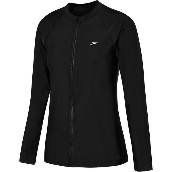 WOMENS END 10 ZIP UP LONG SLEEVE SUN TOP