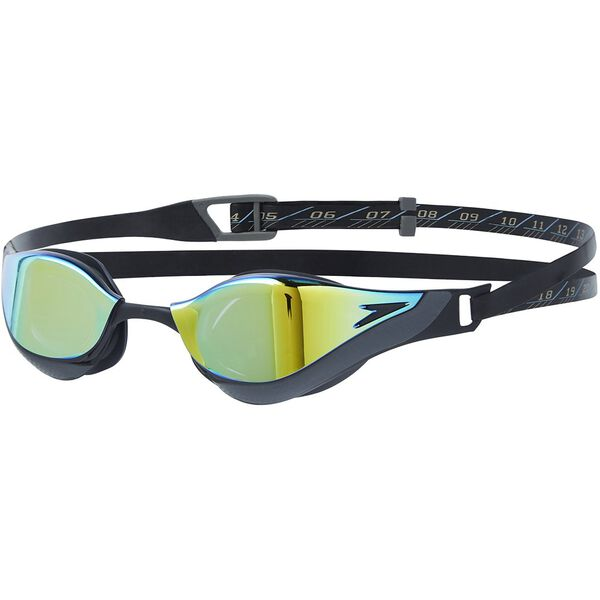 FASTSKIN PURE FOCUS GOGGLE MIRROR, BLK/GOLD, hi-res