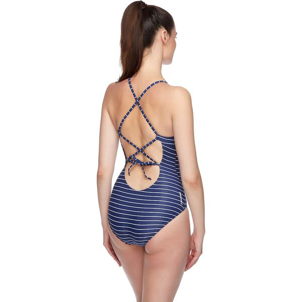 WOMENS SHORE ONE PIECE, LIMITLESS/MARINER/WHITE, hi-res