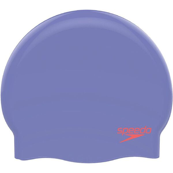 Plain Moulded Silicone Jnr, Junior Lilac/Red, hi-res