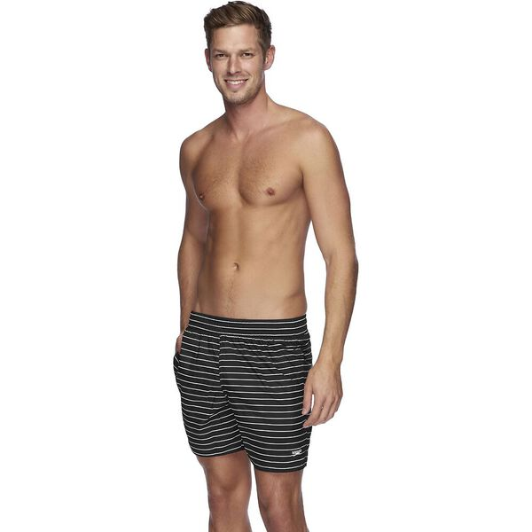 MENS LIMITLESS WATERSHORT, Black/White, hi-res