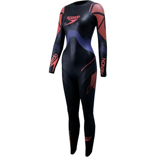 WOMENS FASTSKIN XENON FEMALE FULLSUIT, BLK / PURPLE, hi-res