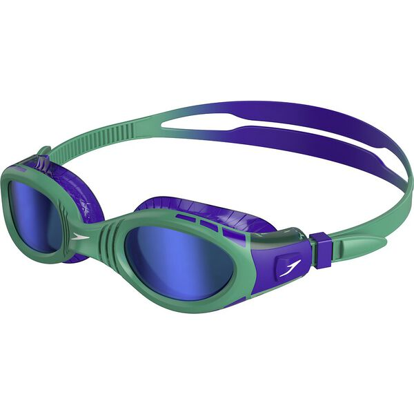 Futura Biofuse Flexiseal Mirror Junior Goggle, Violet/Emerald/Blue, hi-res