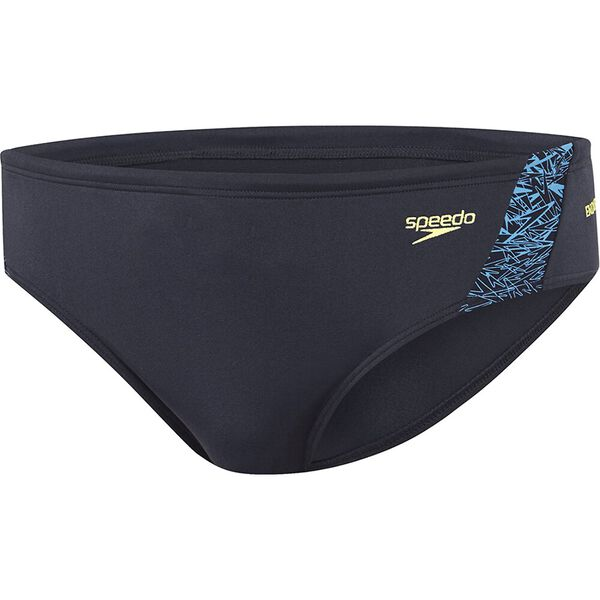 Mens Boom Brief, Speedo Navy/Laguna/Zest, hi-res