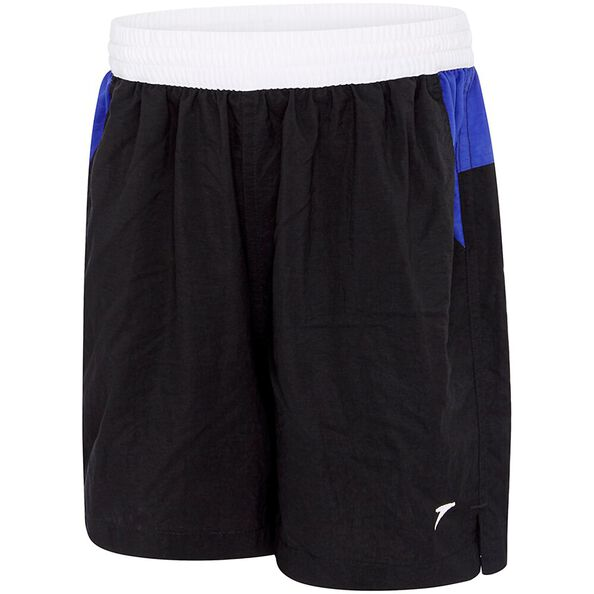BOYS YOKE WATERSHORT, Black/Speed/White, hi-res