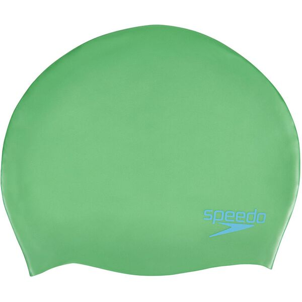 JUNIOR PLAIN MOULDED SILICONE, FAKE GREEN, hi-res