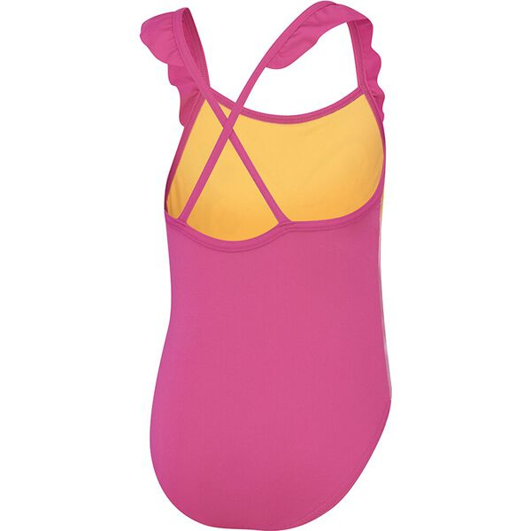 Toddler Girls Frill Crossback One Piece, Summer Bliss, hi-res
