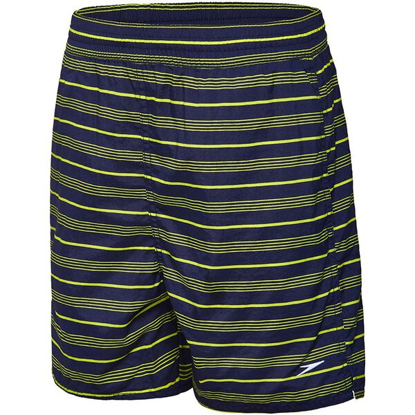 BOYS TIMELESS WATERSHORT, Speedo Navy/Mojito, hi-res