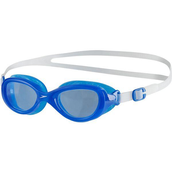 JUNIOR FUTURA CLASSIC, CLEAR/NEON BLUE, hi-res