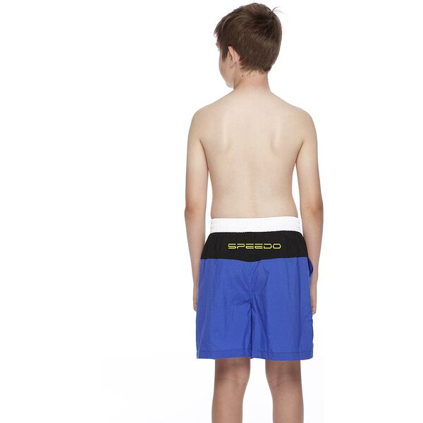 BOYS CONTRAST YOKE WATERSHORT, Speed/Black/White, hi-res