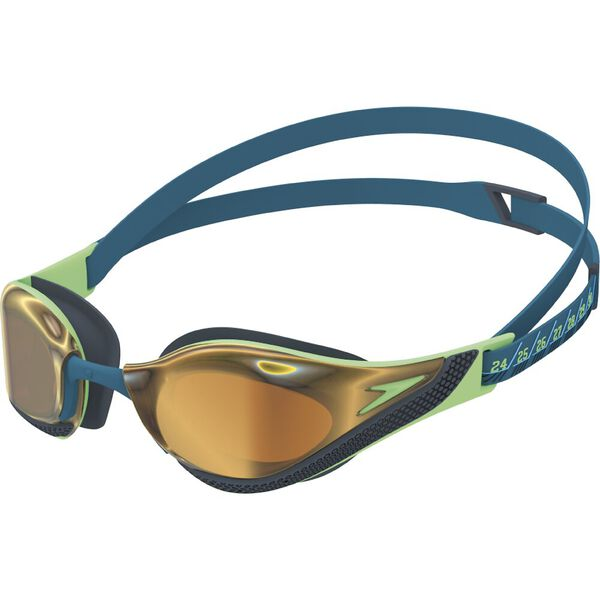 FASTSKIN PURE FOCUS GOGGLE MIRROR AU, GREEN/GOLD, hi-res