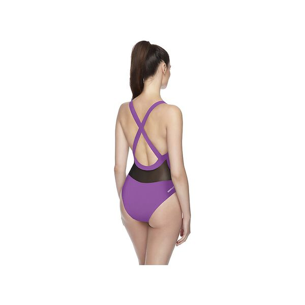 WOMENS POWER ONE PIECE, ORCHID, hi-res