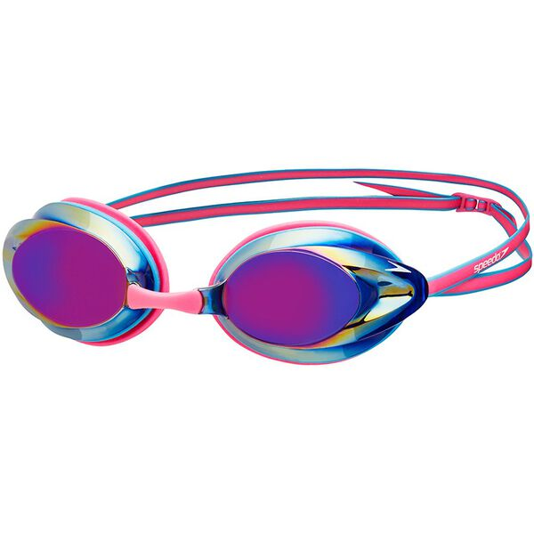 ADULT OPAL MIRROR GOGGLE, PINK/BLUE, hi-res