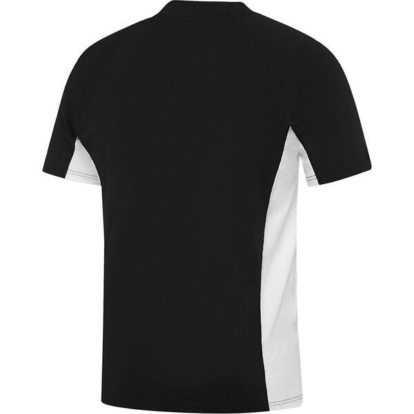 MENS SLIM FIT SUN TOP, Black/White, hi-res