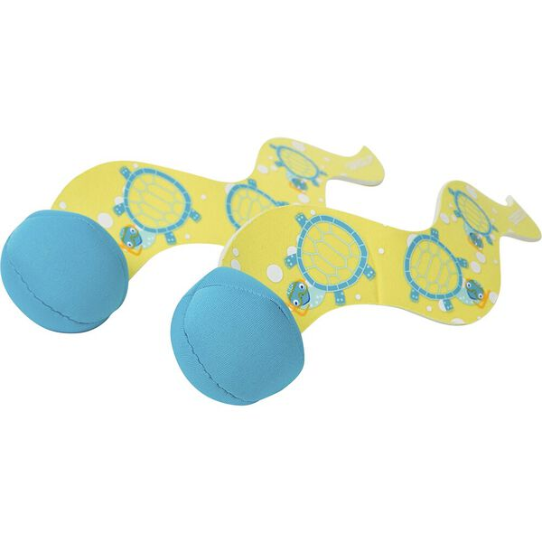 TURTLE DIVE BALLS, YELLOW/BLUE, hi-res