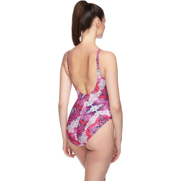 WOMENS TANK SCOOPBACK ONE PIECE, SEASIDE, hi-res