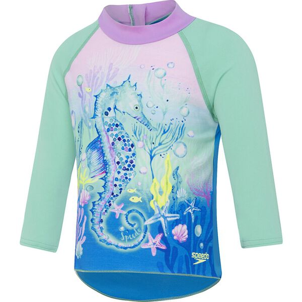Toddler Girls Long Sleeve Suntop