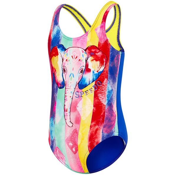 TODDLER GIRLS GALAXY CAT ONE PIECE, Elle Carnival/Speed, hi-res