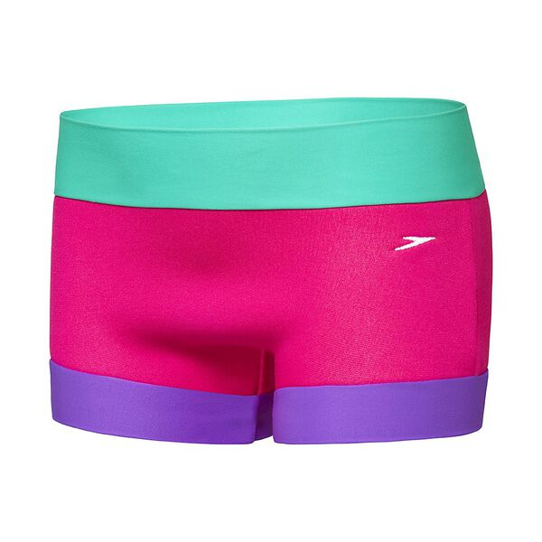 BABY GIRLS SPEEDO NEOPRENE AQUANAPPY, Pink Diamond/Sweet Mint/Penelope, hi-res