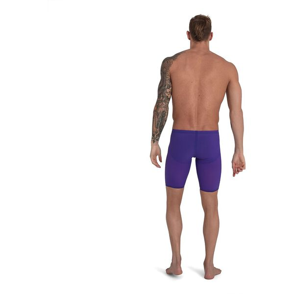 Mens Fastskin LZR Pure Valor Jammer, Violet/Fluo Yellow/Black, hi-res
