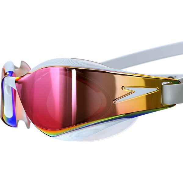 Fastskin Hyper Elite Mirror Goggle, White/Oxid Grey/Rose Gold, hi-res