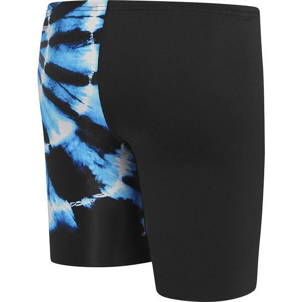 Boys School Colours Jammer, Black/Blue Dye, hi-res