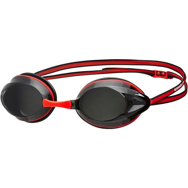 ADULT OPAL GOGGLE, RED/SMOKE, hi-res