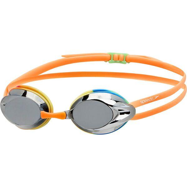 Opal Mirror Junior Goggle, Rainbow/Silver, hi-res