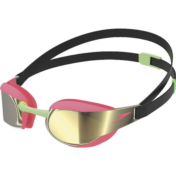 FASTSKIN ELITE MIRROR JNR GOGGLE, BLACK/PHYNIX RED, hi-res