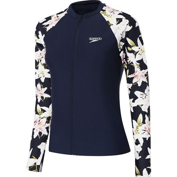 Womens Endurance 10 Zip Up Long Sleeve Sun Top