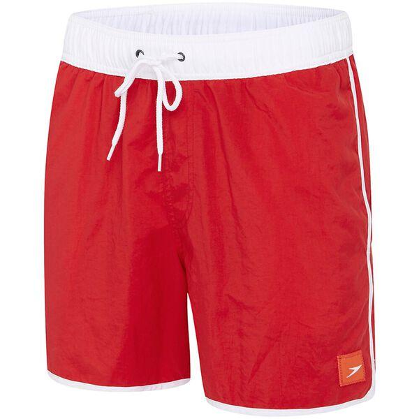 MENS WAVE WATERSHORT, Sport Red/White, hi-res