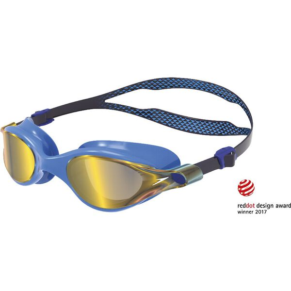 V CLASS VUE MIRROR GOGGLE, NAVY/ POOL/ GOLD SHADOW, hi-res