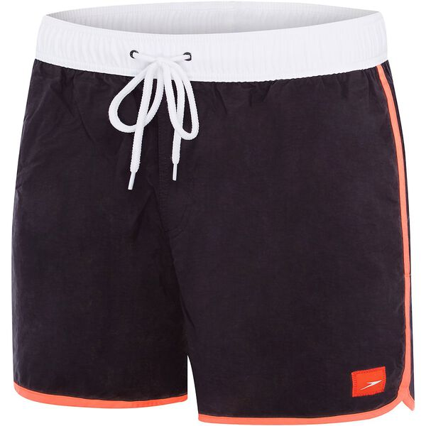 MENS WAVE WATERSHORT, Carbon/Siren Red/White, hi-res
