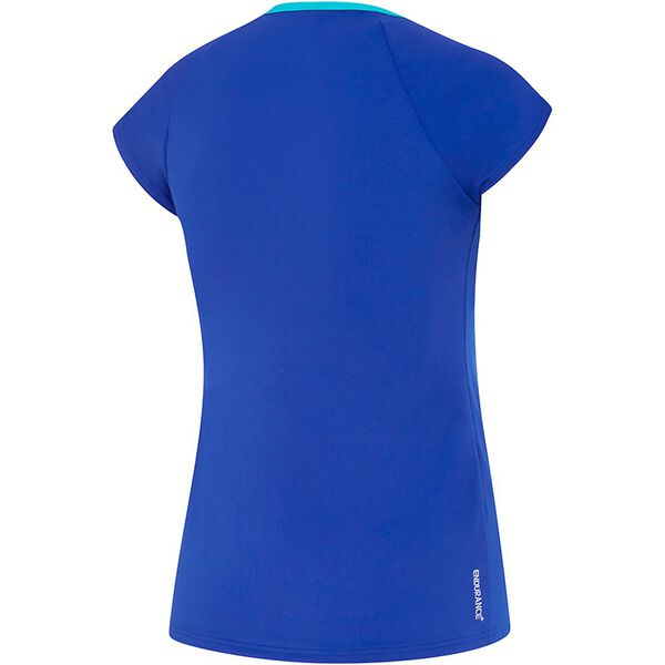 WOMENS CAP SLEEVE SUN TOP, MARRAKECH BLUES, hi-res