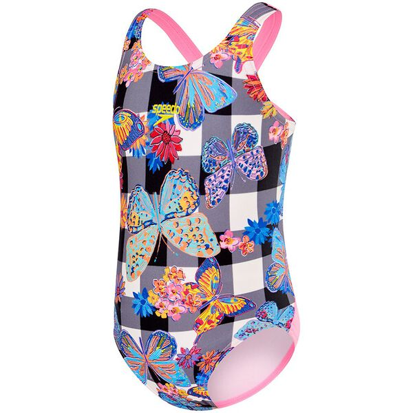 TODDLER GIRLS RISING STAR LEADERBACK ONE PIECE, Butterfly Check, hi-res