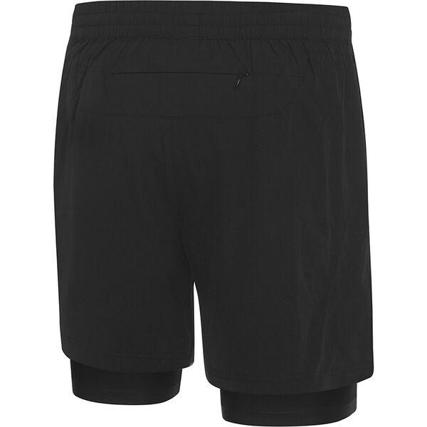 Mens XT 2-1 Short, Black/Zest, hi-res