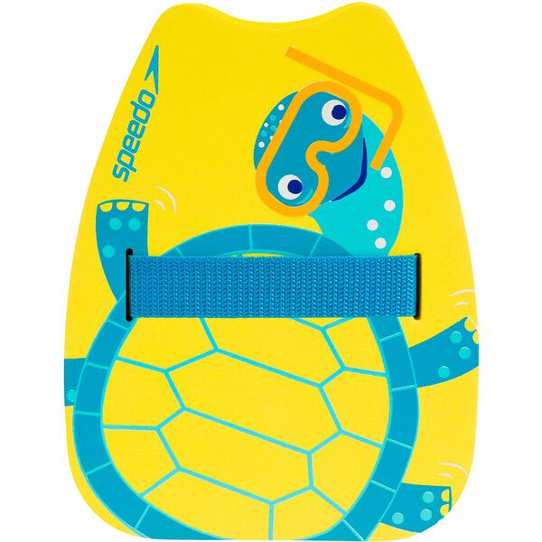 Printed Back Float, Yellow/Turquoise/ Blue, hi-res