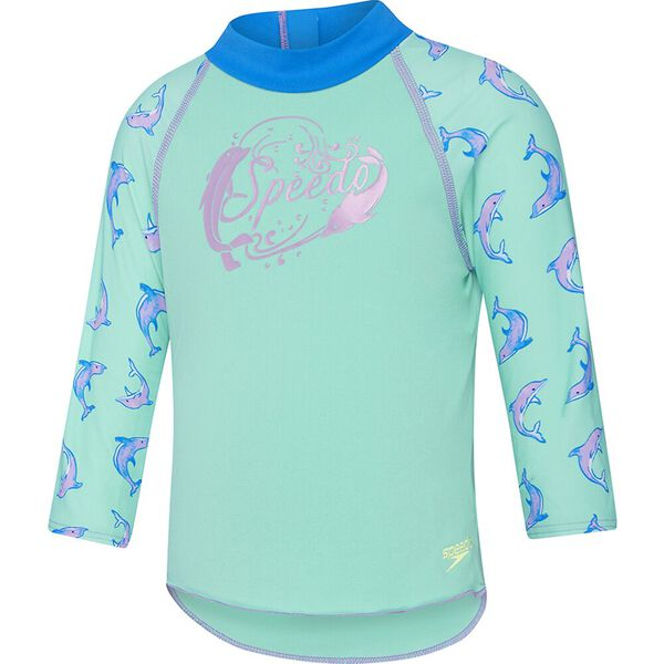 Toddler Girls Logo Long Sleeve Suntop