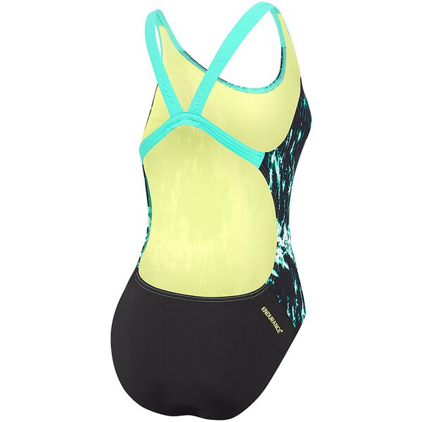 WOMENS LEADERBACK ONE PIECE, POWERSTRIKE SPARKLER, hi-res