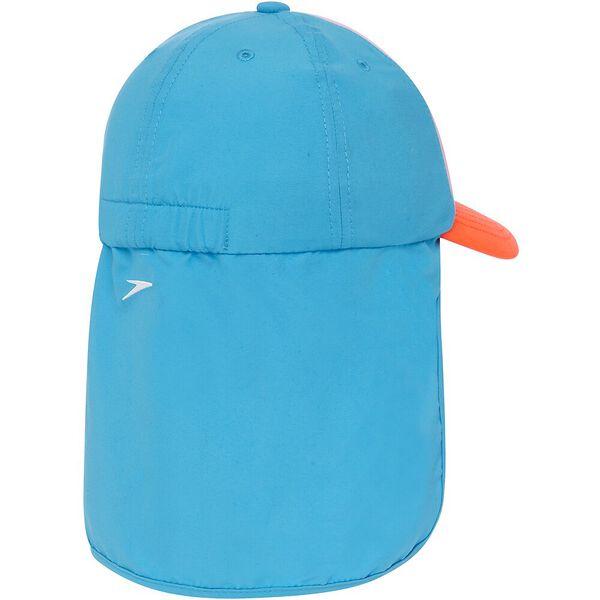 TODDLER GIRLS TRUCKER CAP, Laguna/Flare/Cupid, hi-res