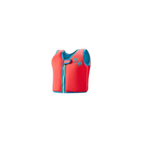 Sea Squad Swim Vest, LAVA RED/NEON, hi-res