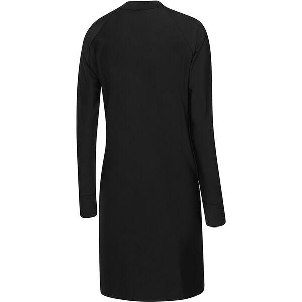 Womens Swim Dress, Black/White, hi-res