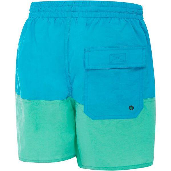 BOYS PANEL SOLID LEISURE SHORT, Scandik/Tile, hi-res