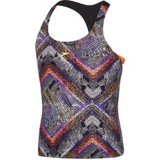 GIRLS CHROMA ZAG T BACK TANKINI