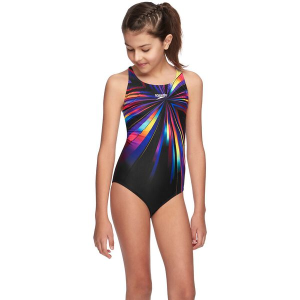 GIRLS RETRO WINGS CROSSBACK ONE PIECE, High Flash, hi-res