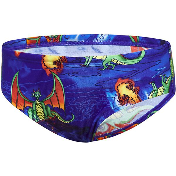 TODDLER BOYS FLAMING DRAGON BRIEF, Flaming Dragon, hi-res