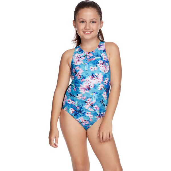 GIRLS TURBO SUIT ONE PIECE, Sweet Blossom, hi-res