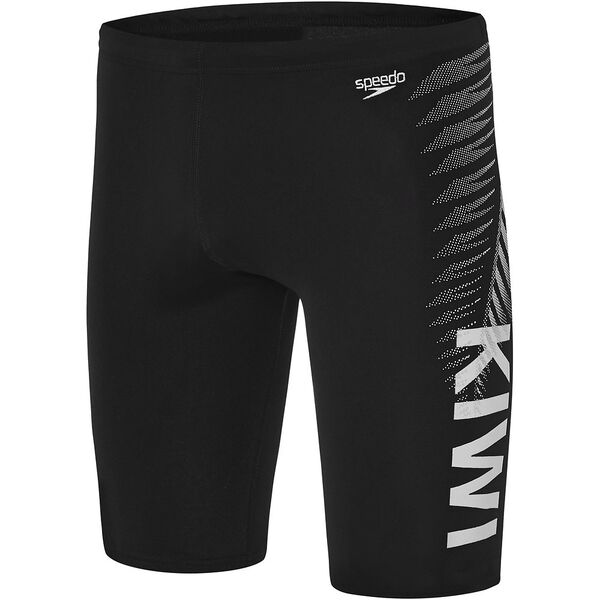 MENS NEW ZEALAND JAMMER BLK, Black, hi-res