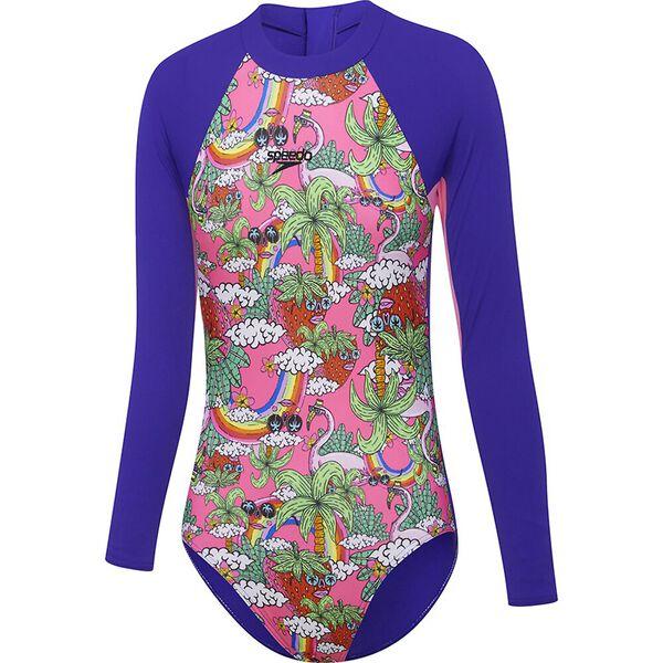 Girls Paddle Suit, Ella Unicorn, hi-res