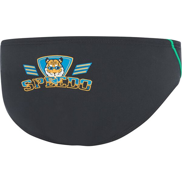 TODDLER BOYS ENDURANCE+ LOGO BRIEF, Speedo Tiger, hi-res